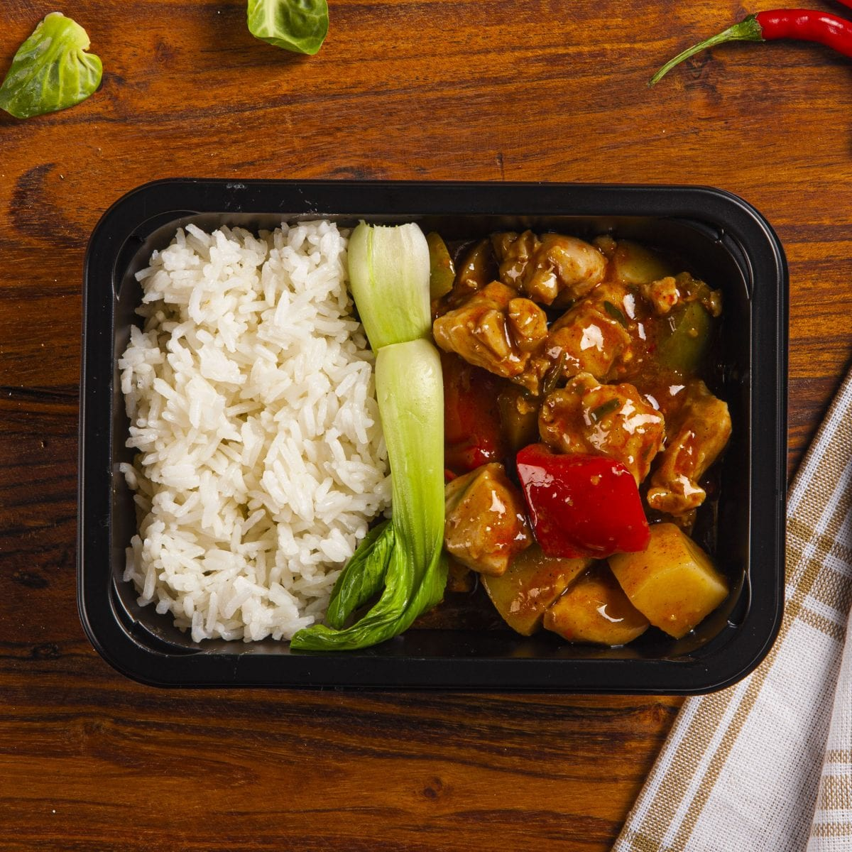 Chilli Chicken Xinjiang Style weight loss meal
